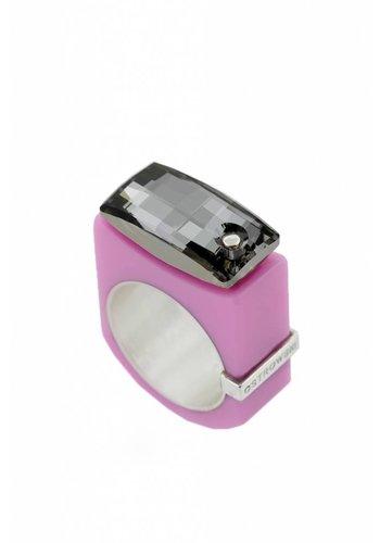 Ostrowski Design Ring Chic sweet roze