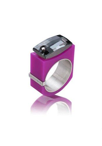 Ostrowski Design Ring Chic roze