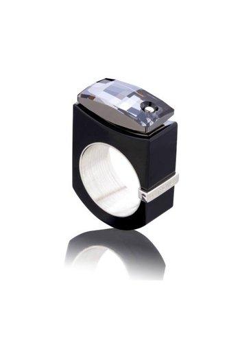 Ostrowski Design Ring Chic zwart