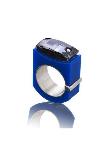 Ostrowski Design Ring Chic blauw