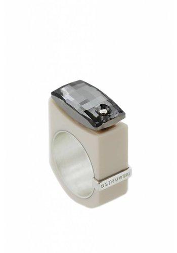 Ostrowski Design Ring Chic cappuccino