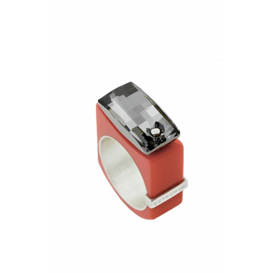 Ring Chic coral-1
