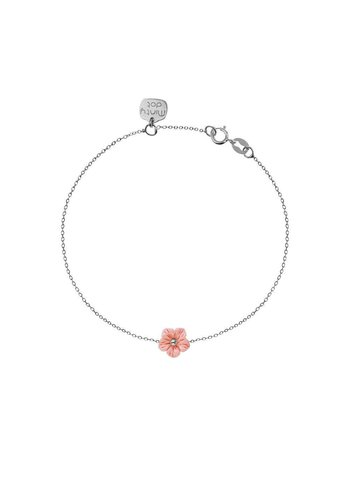 """Minty dot Armband """"forget me not"""" - zilver"""