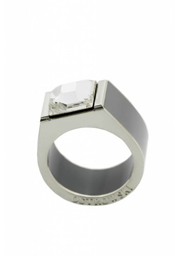 Ostrowski Design Ring Classic licht grijs