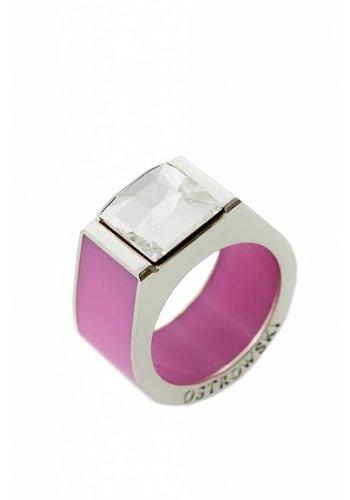 Ostrowski Design Ring Classic roze
