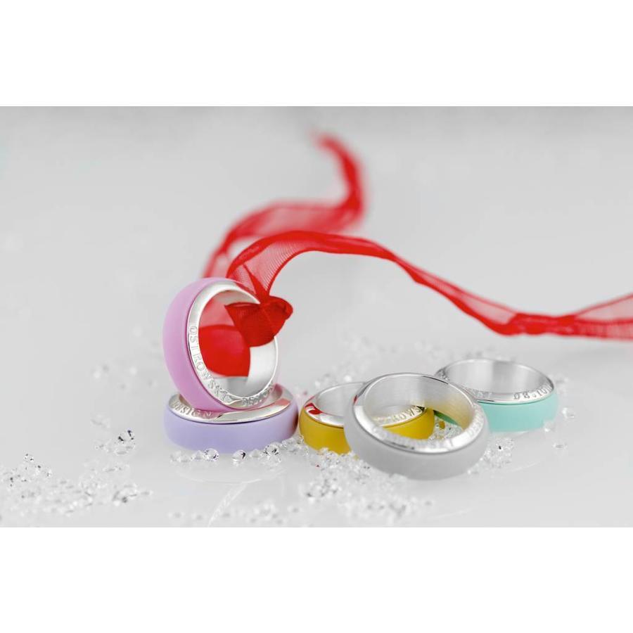 Ring Joy Line mint - zilver-2