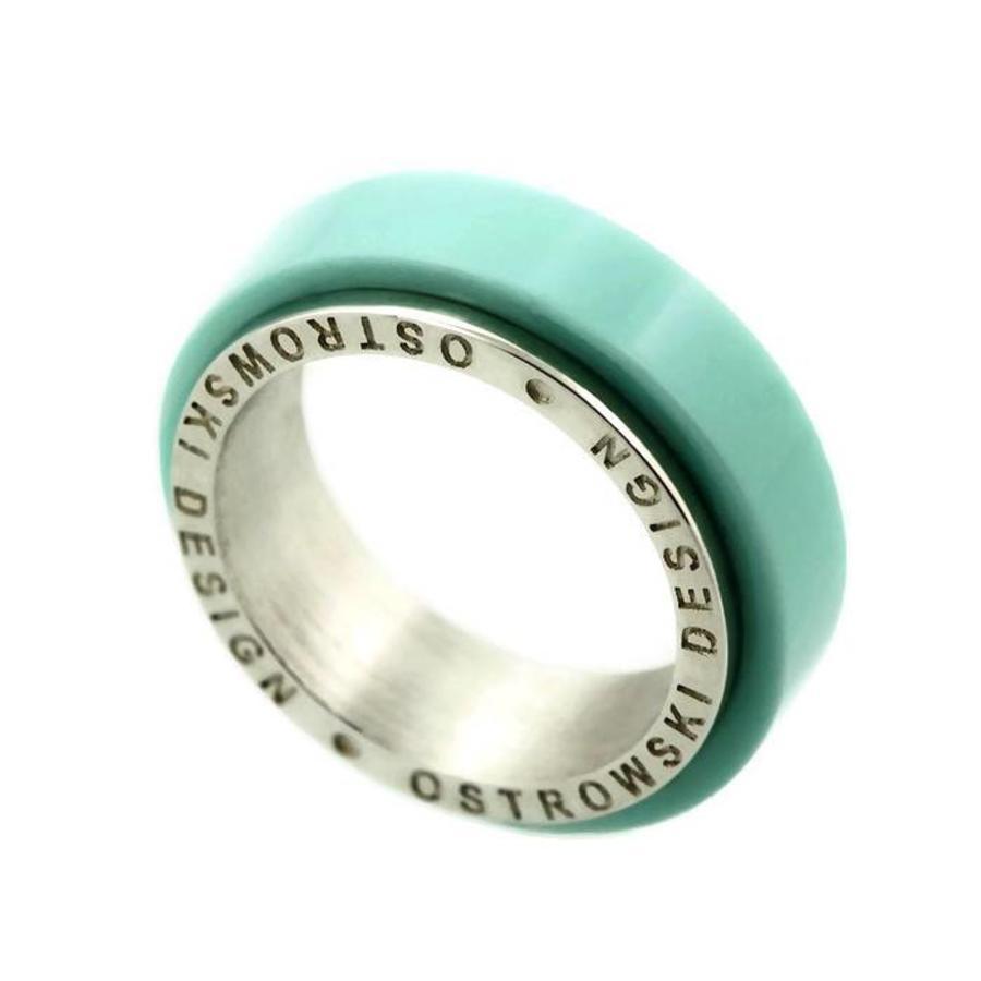 Ring Joy Line mint - zilver-3