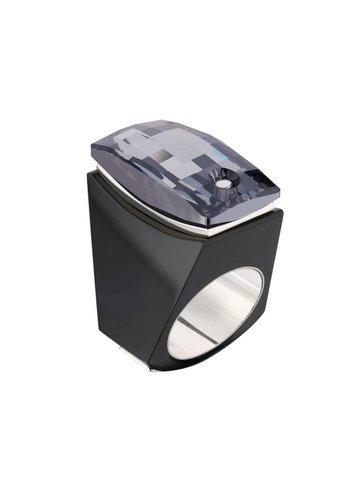 Ostrowski Design Ring Super Chic zwart