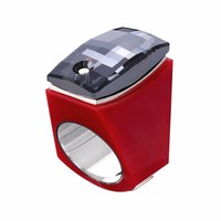 Ring Super Chic rood