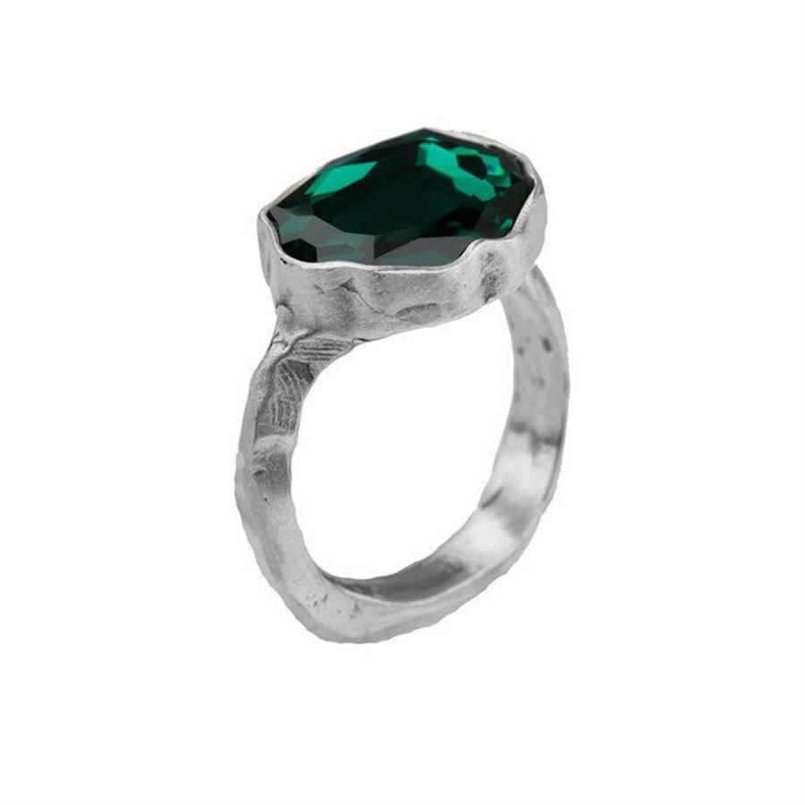 "Ring ""moroccan rose"" MSA5521 Emerald"