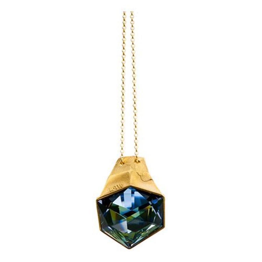 "Ketting ""aurora"" MG2524 Crystal Sahara-1"