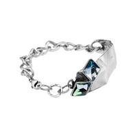 "thumb-Armband ""aurora"" MR3527"" met Swarovski kristal Berm Metal Blue-1"