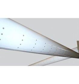 Luchtverdeelslang 200mm x 10mtr