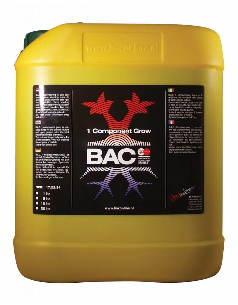 B.A.C. 1 component Groei 10 ltr