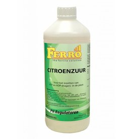 Ferro Citroenzuur 1 ltr