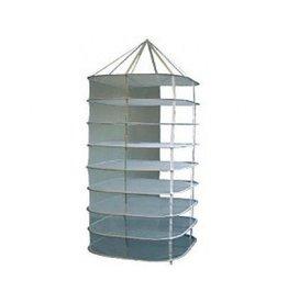 Dry-line droognet hangend groot 8 lagen 80x80 cm vierkant