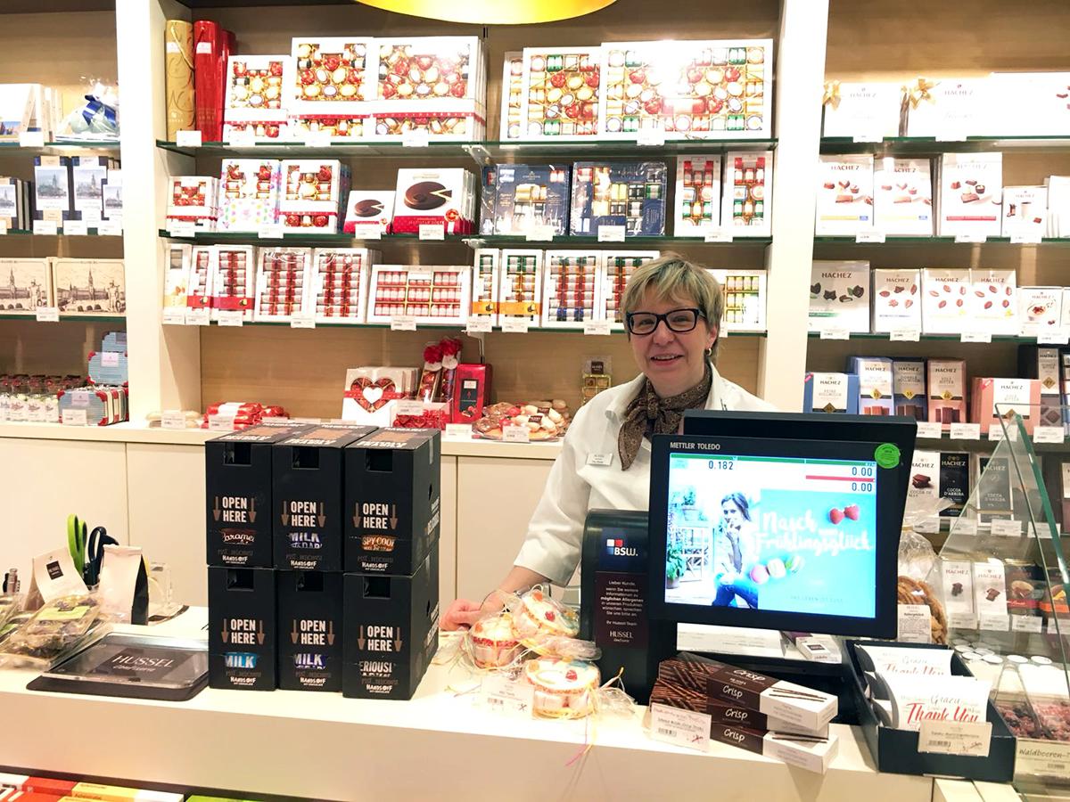 Chocolade Hussel Duitsland
