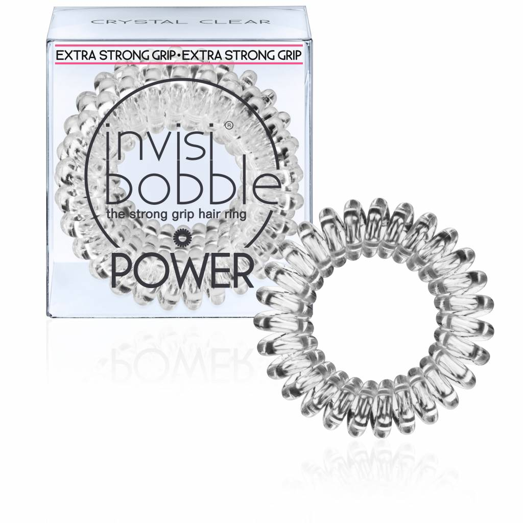 InvisiBobble | Power -  Crystal Clear