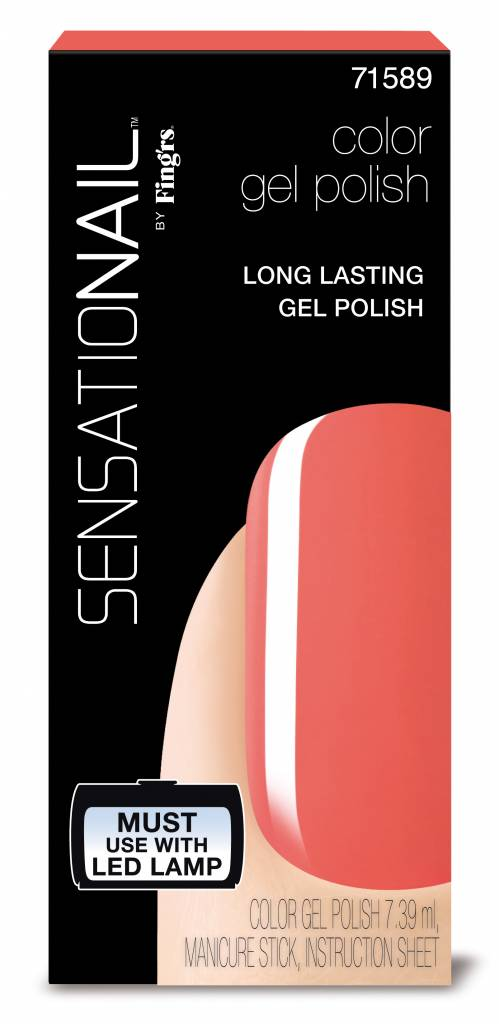 Sensationail | Gel Polish - Coral Sunset