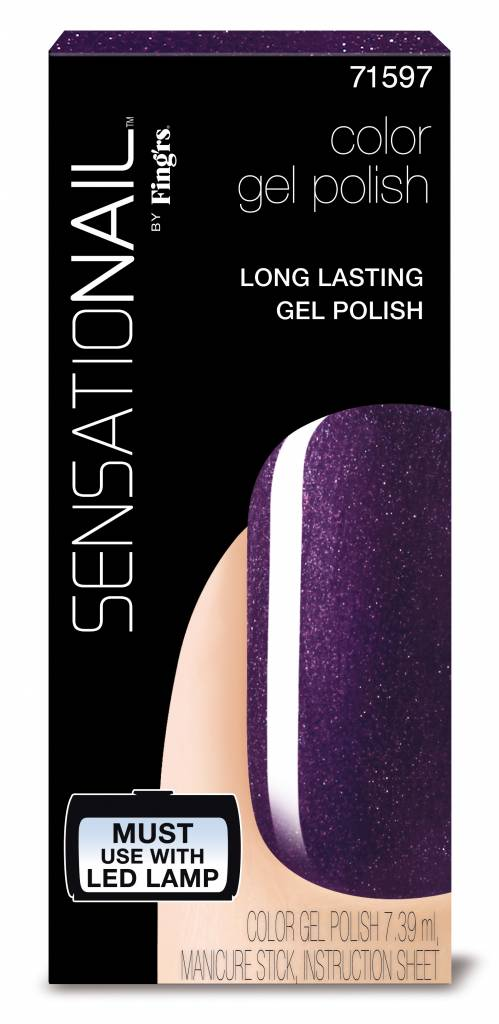 Sensationail | Gel Polish - Purple Orchid