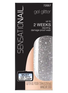 Sensationail | Gel Polish - Silver Glitter