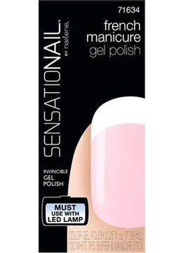 Sensationail | Gel Polish - French Manicure Sheer Pink