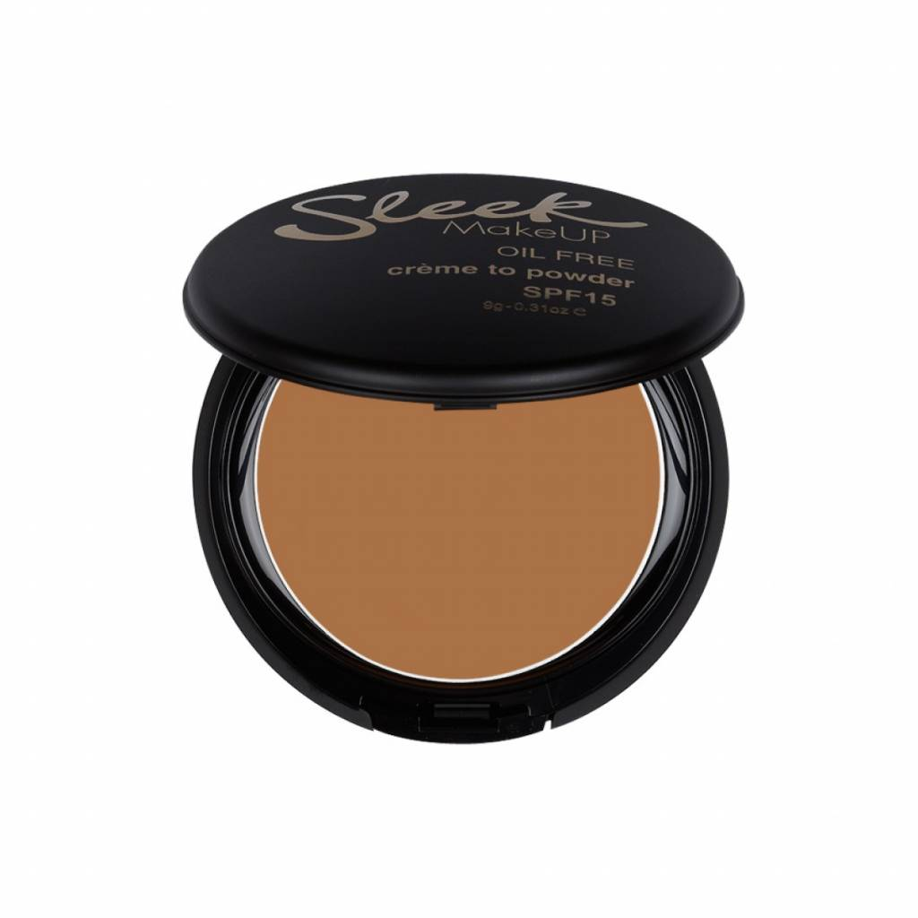 Sleek MakeUp | Creme To Powder Foundation- Noisette