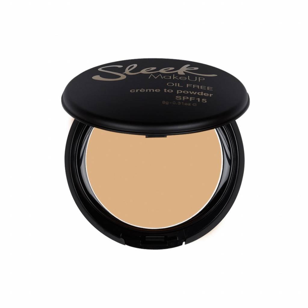 Sleek MakeUp | Creme To Powder Foundation - Shell