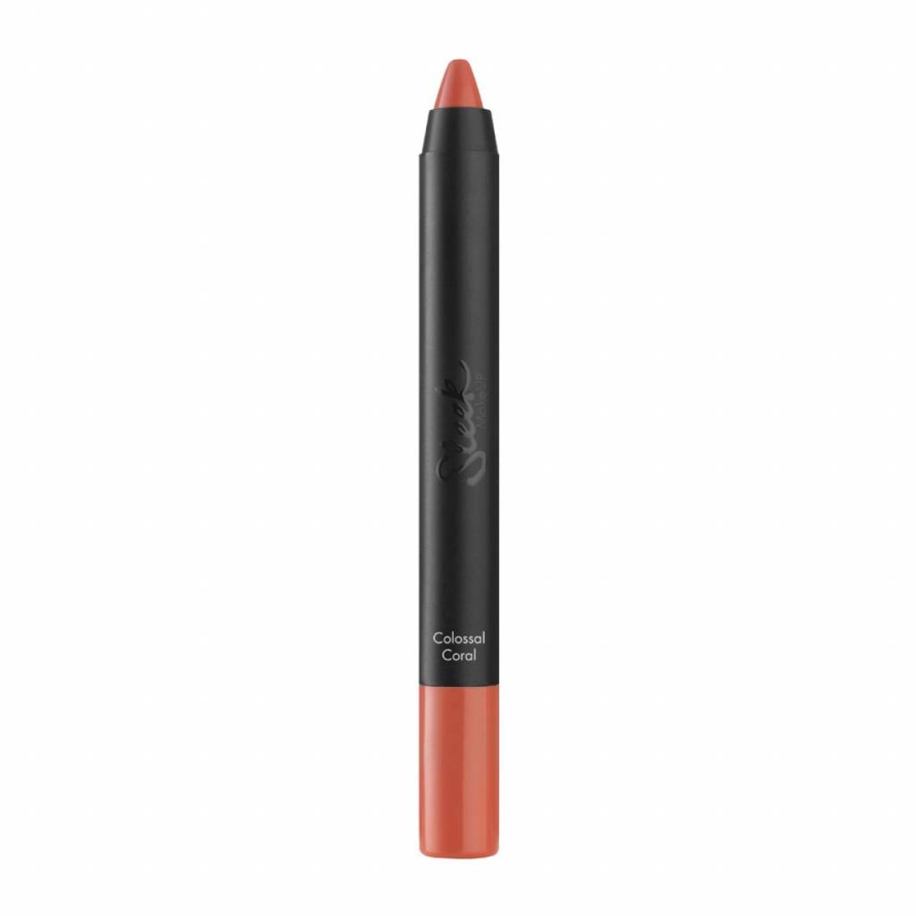 Sleek MakeUp | Power Plump Lip Crayon - Colossal Coral