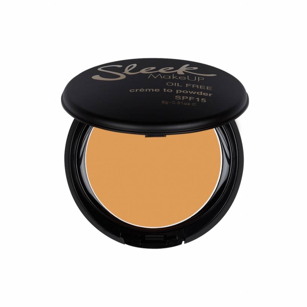 Sleek MakeUp | Creme To Powder Foundation - Creme Caramel