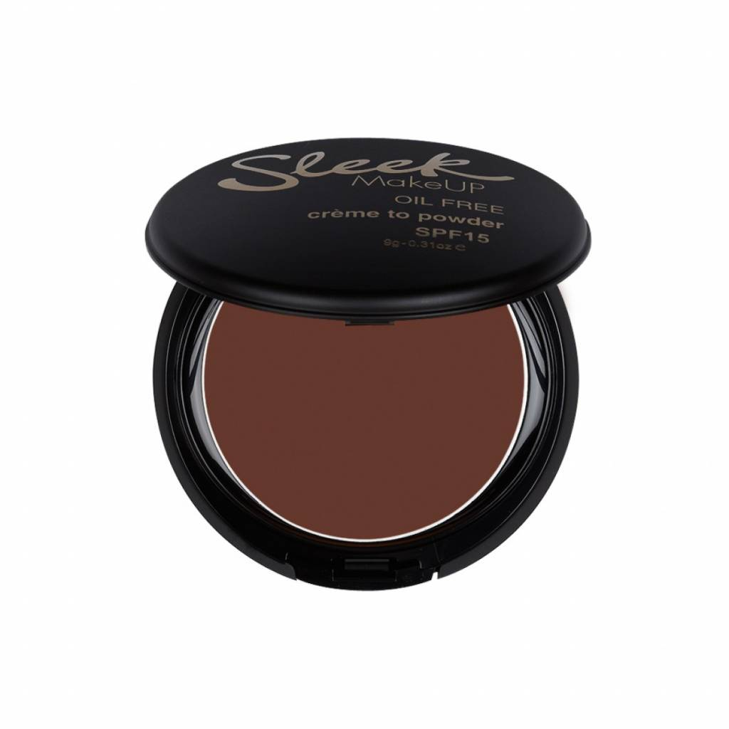 Sleek MakeUp | Creme To Powder Foundation - Deep Sable