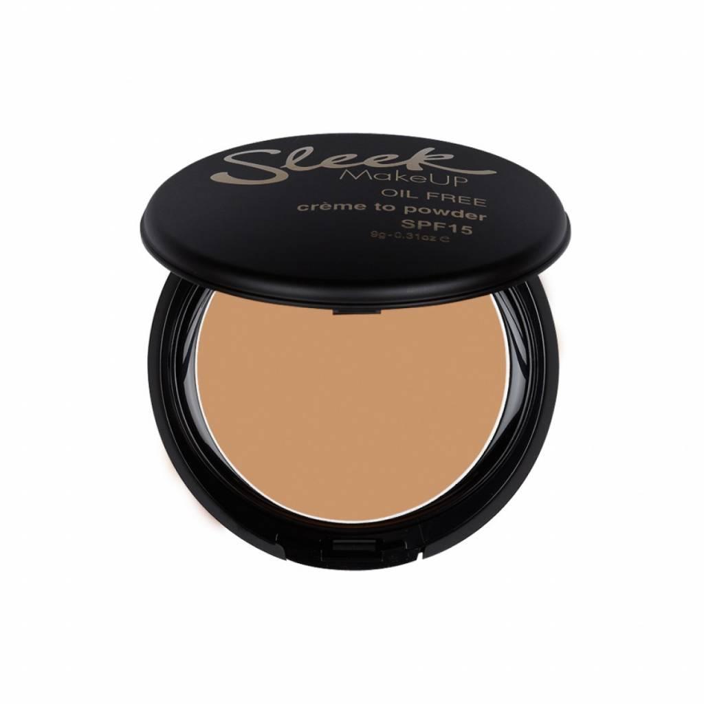 Sleek MakeUp   Creme To Powder Foundation - Fudge