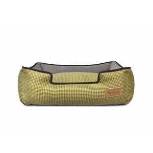 P.L.A.Y. Lounge Bed - Houndstooth Yellow/Brown