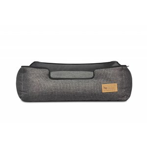 P.L.A.Y. Lounge Bed - Houndstooth Black/Grey