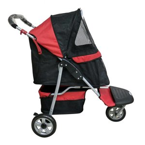 InnoPet Hondenbuggy Pet Buggy Rood
