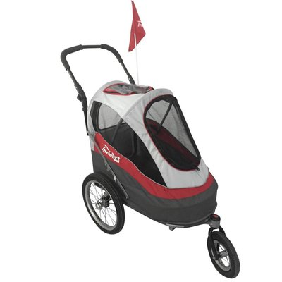 InnoPet Sporty Dog Trailer Rood/Wit