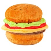 P.L.A.Y. Pluche Hamburger Met Geluidjes En Onderdelen
