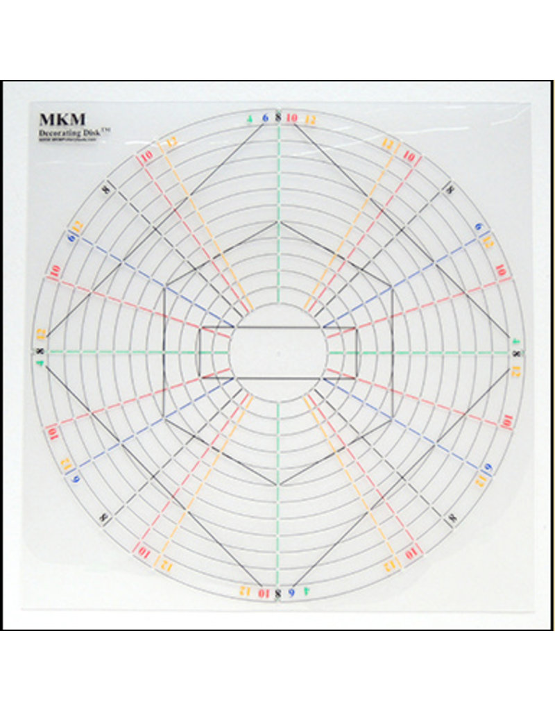 MKM tools MKM Decorating disc 38cm