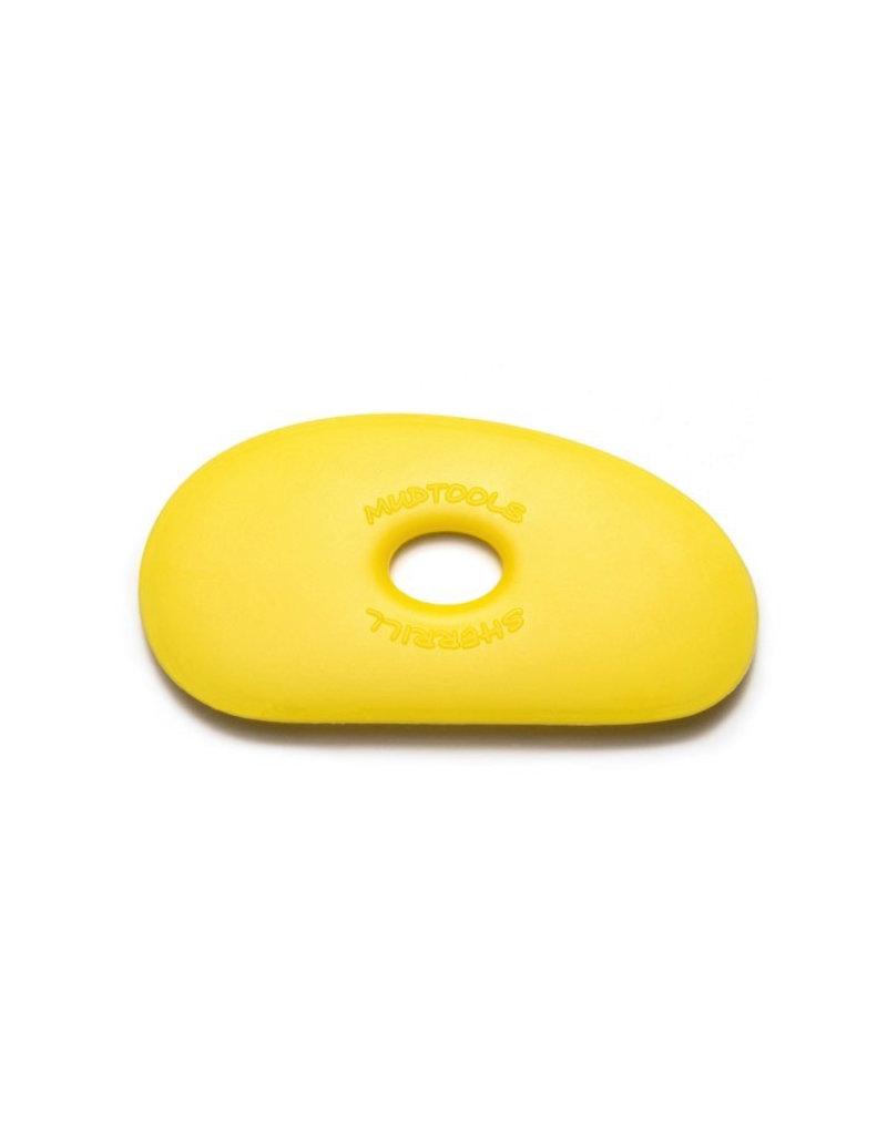 Mudtools Mudtools Polymer rib size 1 Yellow (soft)