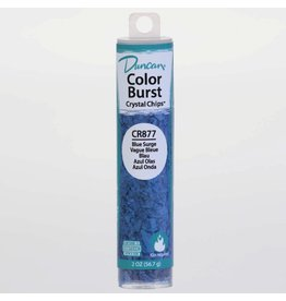 Potterycrafts Duncan Colour Burst Crystal Chips Blue Surge