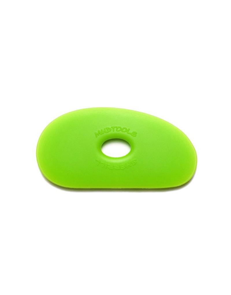 Mudtools Mudtools Polymer rib size 1 Green  (medium)
