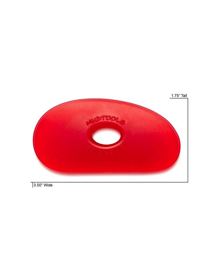 Mudtools Mudtools Polymer rib size 1 Red (very soft)