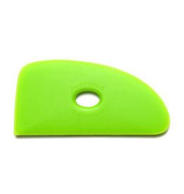 Mudtools Mudtools Polymer rib size 4 Green  (medium)