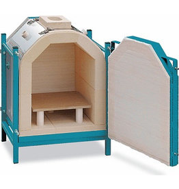 Rohde Rohde KR 150 Frontloading Raku Kiln, including furniture & accessories