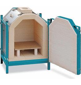 Rohde Rohde KR 70 Frontloading Raku Kiln, including furniture & accessories
