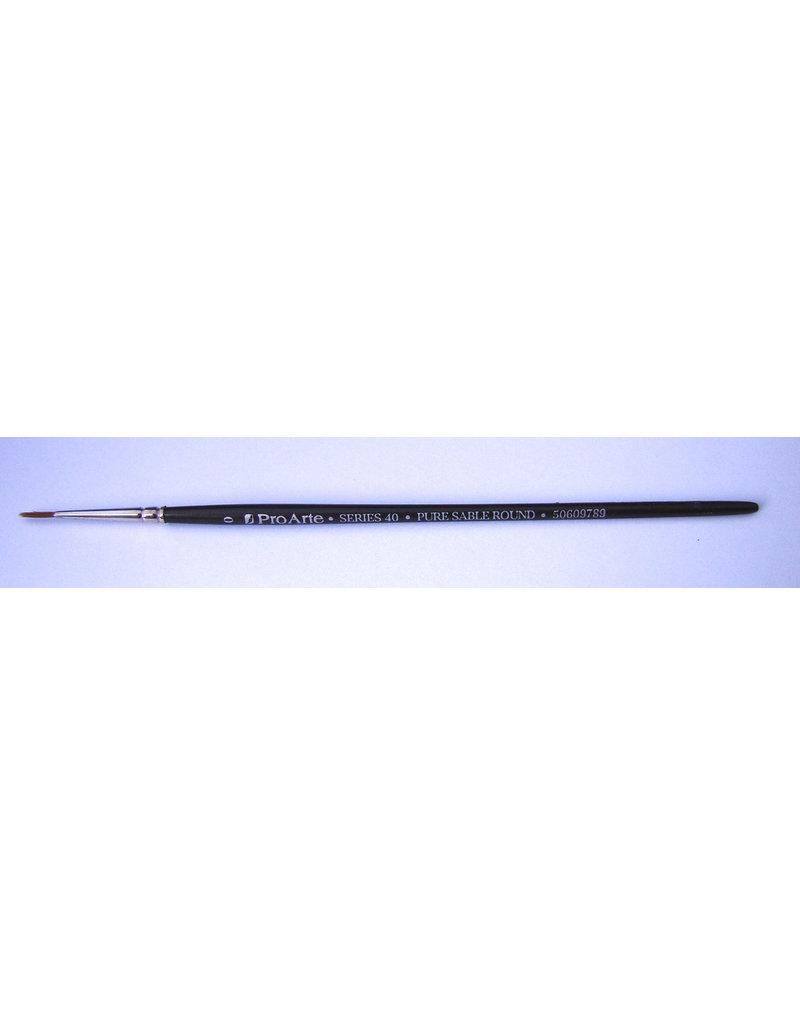 Brush Round size 0 (sable)