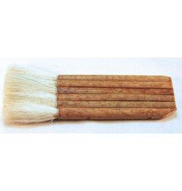 6 Pipe Bamboo Brush (goat) 43mm