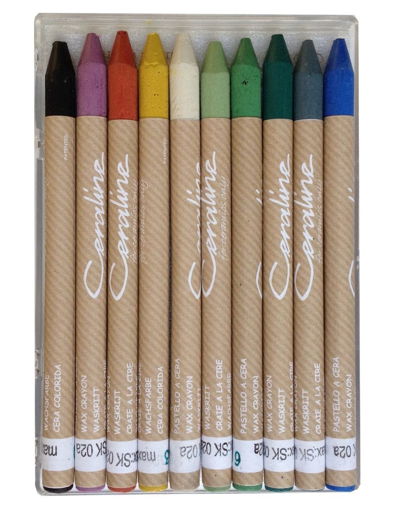 Ceraline Ceraline Stoneware Crayons (10 colours)
