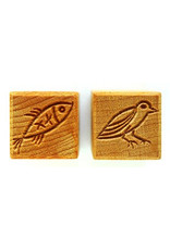 Bird & Fish Stamp