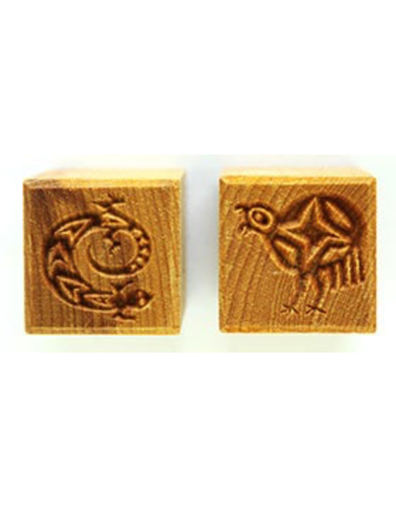 Lizard and Flightless Bird Stamp